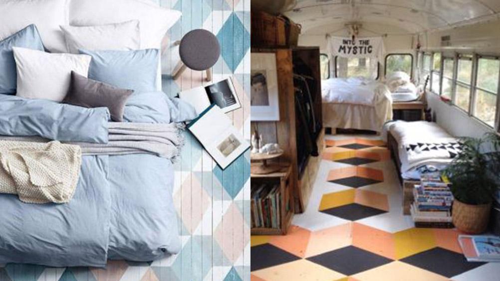 25 pisos criativos que você gostaria de ter em casa